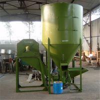 合肥鱼虾粉碎搅拌机2台批发 粮食自吸式混合罐 300公斤时产