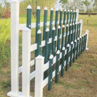 创驰护栏pvc塑料围栏 市政园艺花坛护栏 塑钢草坪护栏 篱笆栅栏