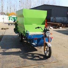 电动撒料机价格 定做撒料车厂家 养殖场自动投料车