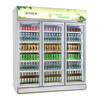 飞尼特FC-DD186双门饮料柜冷藏展示柜超市冷柜厂家直全国联保