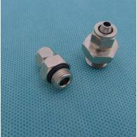 注塑机机械手专用螺纹直通PC6-02G 螺丝直通 机械手配件