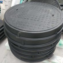 加油站油罐井盖价格 双层防水防静电有挡板油圆形井盖 河北华强复合材料