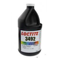 loctite产品 乐泰3492胶水 3492uv胶 紫外线固化金属玻璃粘接