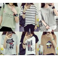 韩版女装T恤贵阳便宜T恤几元服装批发2-10元清货女士地摊货批发