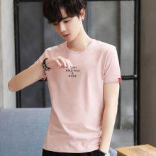 2019新款男装半袖T恤批发厂家货源 时尚韩版大码男装小衫短袖