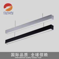 深圳市铎恩照明 高端LED长条灯办公室吊线灯 休息会所LED线性灯超长保质