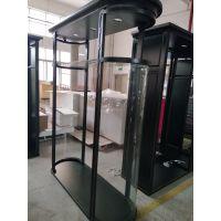 新款高档服装陈列展示柜/实木/玻璃展示柜
