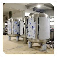 方城县石英砂过滤环保污水处理设备过滤清又清不锈钢隔板水帽过滤罐