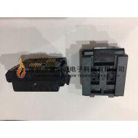 YAMAICHI IC51-1004-1919-2 IC插座QFP100PIN 0.4MM间距翻盖式