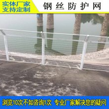 钢围网厂家 广州水库防护网 肇庆水源区隔离围栏网 双边丝护栏