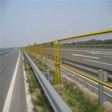 高架桥两侧防抛网 高速公路防眩网定做 边框护栏网厂家