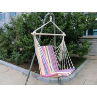 HY-B2106 Polycotton hanging chair with armrest