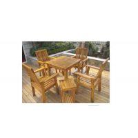 优质防腐木桌椅