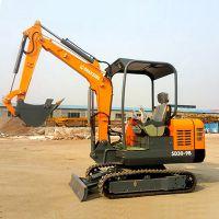 低油耗小型挖机 山鼎履带式挖掘机 质量保证