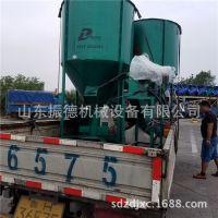 ZD-500立式粉碎搅拌机 干粉饲料搅拌机 大型卧式饲料搅拌混合机