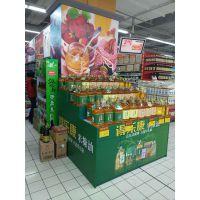 浙江杭州展柜厂供应木质超市食品单面油柜