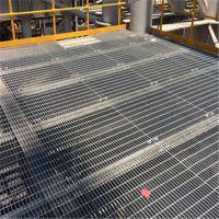 上海镀锌格栅板@上海镀锌防滑平台钢格栅板G305/40/100W每平米价格