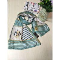广州伊曼品牌真丝围巾,品牌折扣女装,一手货源批发,尾货批发