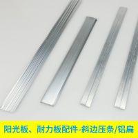 杭州供应PC阳光板专用弧形压条,铝合金收边条,pc板连接件, 典晨品牌 快速专业