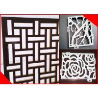 雕刻造型铝窗花,花纹图案镂空铝单板厂家专业定做