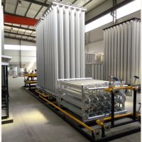 专业生产多种型号LNG点供气化调压计量加臭一体撬、空温式汽化器、卸车增压器等燃气设备