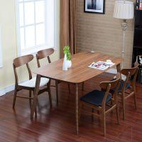 咖啡厅桌椅定制 实木长方餐桌 北欧风格餐厅海德利批发