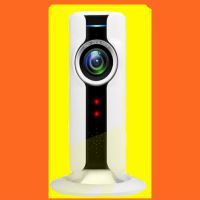 180度高清全景鱼眼网络监控摄像头 家用无线 手机 wifi远程监视器