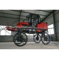 供应大面积杀虫喷药机自走式喷杆喷雾机52马力水稻棉花打药车科博厂家