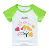 厂家直销童装批发儿童短袖T恤纯棉夏装夏季童装女童宝宝男童打底衫半袖小童体恤衫