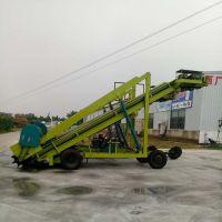 牛羊场自走式高空青储取料机 移动式青贮取草机厂家 碳钢材质
