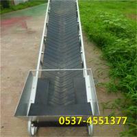 定制上下车皮带线 物流装卸传送机 爬坡皮带输送机