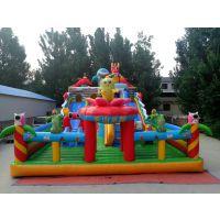 大型户外儿童充气米奇滑梯 充气城堡儿童乐园16*8 50平左右城堡滑梯组合乐园