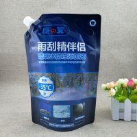 液体包装袋 东莞生产厂家 玻璃水 清涤剂 冷冻液自立带嘴袋
