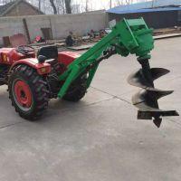 山东风清树坑钻孔机 农用种树钻坑机 植树挖坑机