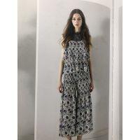福佑门商厦批发市场唯品会品牌折扣女装一手货源国内知名慕拉欧美连衣裙