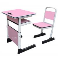 麦德嘉供应ETZ-01儿童学习桌椅 单人可升降课桌椅 塑料桌子