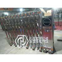 虎门工厂不锈钢遥控门定做/单位电动平移门厂家安装