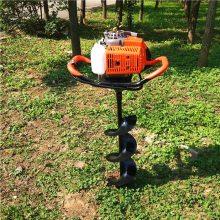 汽油植树打坑机 性能好的挖坑机 果园茶园手提式打洞机 乐丰牌