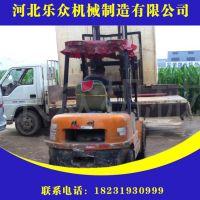 乐众重工专业制作 卧式混凝土砂浆输送泵 建筑工地二次构造柱泵 细石泵