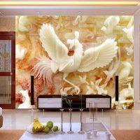 佛山彩雕电视背景墙印花机 玻璃瓷砖浮雕平板喷墨打印机厂家直销