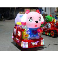 音乐彩虹兔摇摇车摇摆机 摇马电动玩具摇摆机 电动玩具KT猫摇摇马厂子