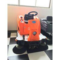 粉末厂区清扫用驾驶扫地车 凯达仕电动清扫车YC-SD1400