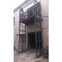深圳龙华区导轨式升降简易电货梯2吨4米