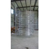 厂家来图定做大型换热器用钛盘管 GR2 钛弯管 钛蛇形管