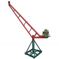 明工鸡公吊、工程工地用起重机、挖桩打井用小起吊机