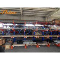 伸缩式悬臂货架 广东存放管材的架子定做厂家 可自动升降悬臂式货架图片20171025