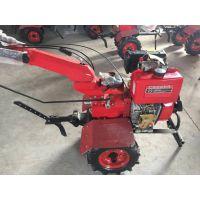 小型微耕机价格 思路新型四驱微耕除草机 汽柴两用操作简单
