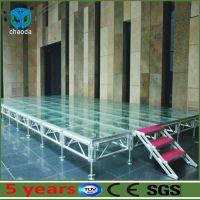 舞台 婚庆舞台 铝合金舞台 铝合金玻璃舞台 可定做固定尺寸