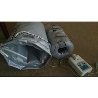 韵恒生产制作电伴热阀门保温套,该产品集伴热和保温于一体的新型材料,安全、节能新技术