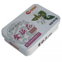 定制金银花含片盒 草珊瑚糖果盒 清爽糖铁盒